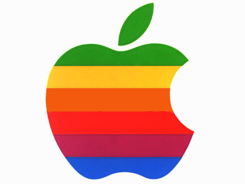 We All Know Apples Characteristic Apple Logo Most Of Us Remember The As Joyous Rainbow Colored Sitting On Every Grey Macintosh